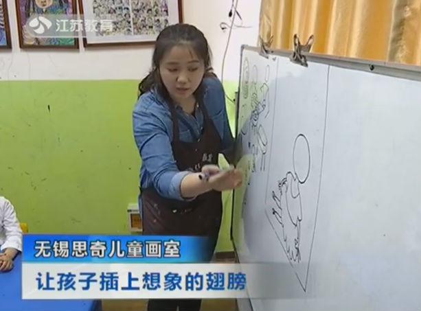 无锡思奇儿童画室 让孩子插上想象的翅膀