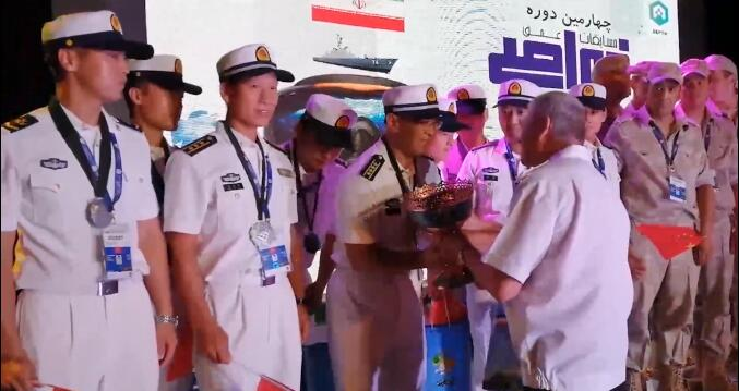 """""""国际军事比赛—2019""""深海项目比赛闭幕"""