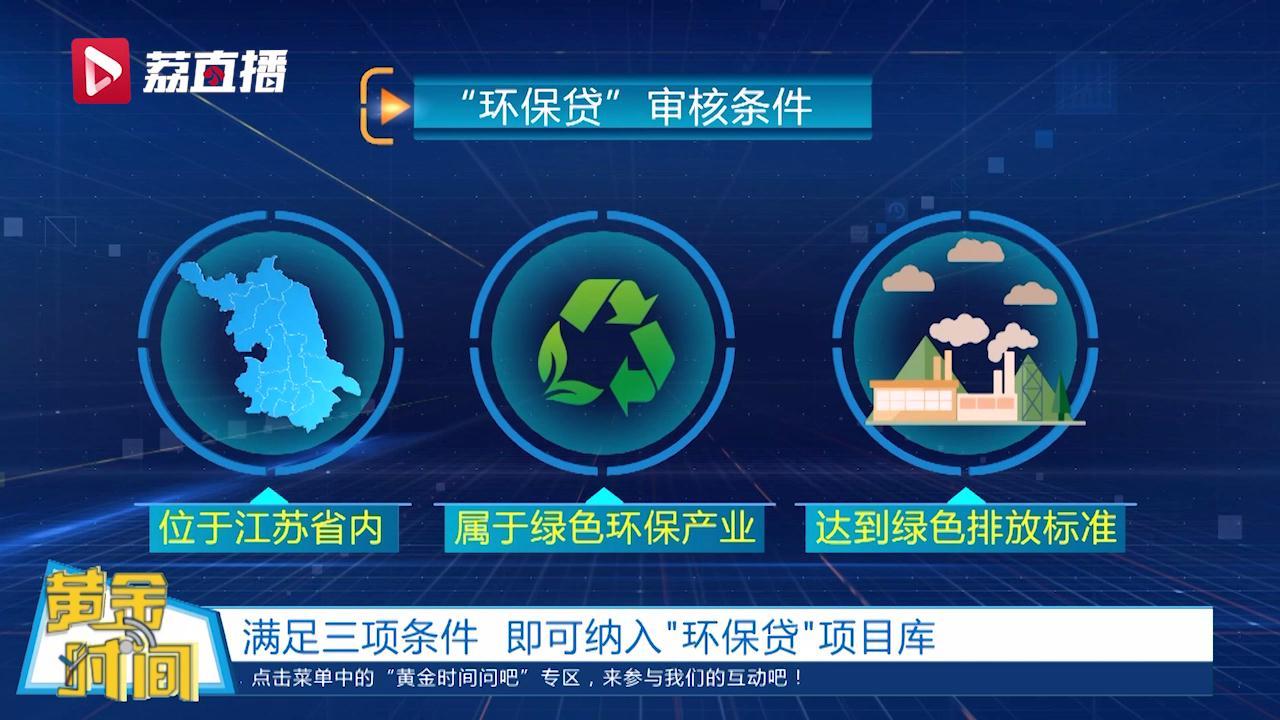 黄金时间丨5000万!江苏环保单一项目最高可贷5000万元