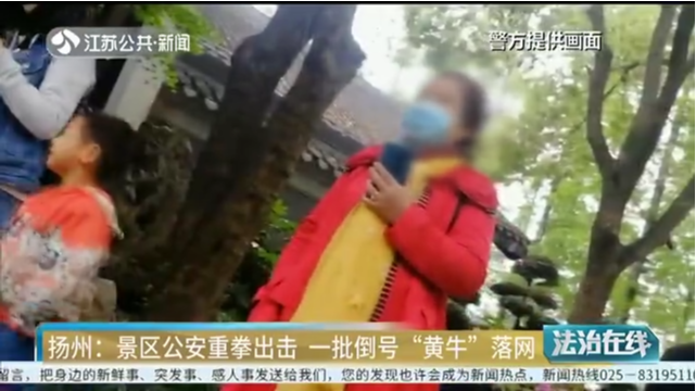 """扬州:景区公安重拳出击 一批倒号""""黄牛""""落网"""